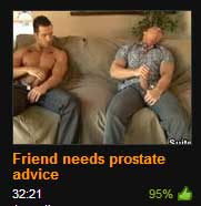 Friend needs prostate advice